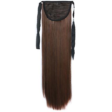 קוקיות פאת שיער ארוכות מיזוג ישרה חום 4a / 30b