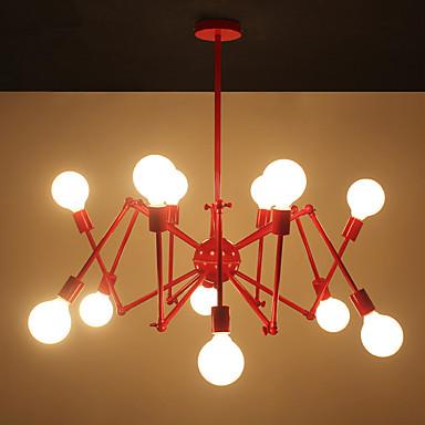 Modern/Zeitgenössisch Designer Kronleuchter Raumbeleuchtung Für Wohnzimmer Studierzimmer/Büro 110-120V 220-240V 3000lm 110-120V 220-240V