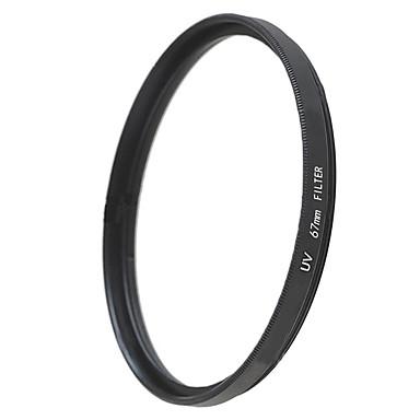 emoblitz 67mm uv ultrafiolett beskytter objektivet filter svart