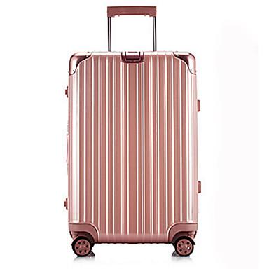 Unisexe Métallique Extérieur Bagages Blanc / Rose / Violet / Bleu / Or / Rouge / Argent / Noir