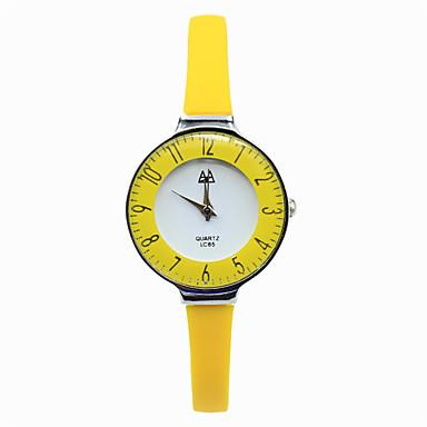 Frauen Uhren lässig digitale Zeiger Silikonband Süßigkeiten Farbe Spiegel Mode-Gürtel Quarz