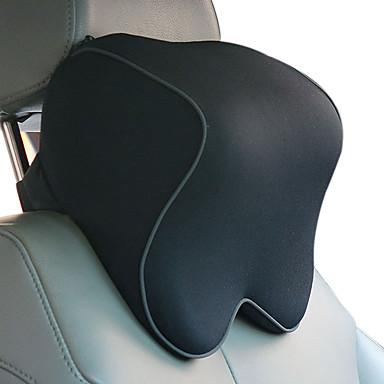 Kopfstützen fürs Auto Kopfstützen Schwarz Baumwolle Funktionell Normal for Universal Alle Modelle