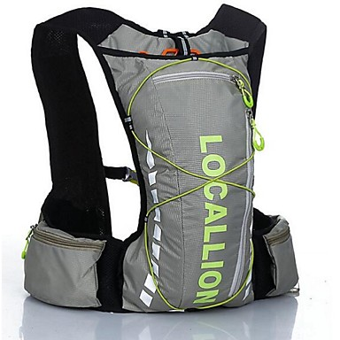 10LLRadfahren Rucksack Rucksack für Freizeit Sport Reisen Laufen Sporttasche tragbar Reflexstreiffen Multifunktions Einschließlich