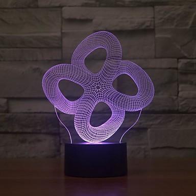 vakre 3d belysning skulpturer laget av gravert lysbilder og opplyst av led lys dekorasjon for hjemmet
