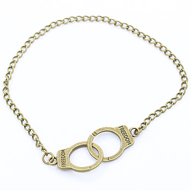 Femme Chaînes & Bracelets Mode Cuivre Plaqué argent Alliage Bijoux Pour Mariage Soirée Quotidien Décontracté