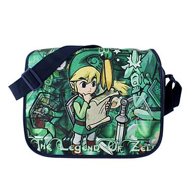 Bolsa Inspirado por The Legend of Zelda Fantasias Anime Acessórios para Cosplay Bolsa Náilon Homens Mulheres
