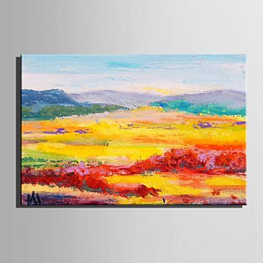 Pintura al óleo pintada a colgar Pintada a mano - Paisaje Estilo europeo Modern Lona