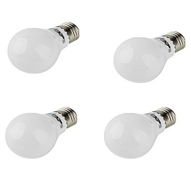 E26/E27 נורות גלוב לד A60(A19) 10 נוריות SMD 5730 דקורטיבי לבן חם 420lm 3000K AC 85-265 AC 220-240 AC 100-240 AC 110-130V