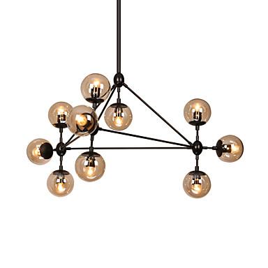 10-Light Sputnik Lysestager Baggrundsbelysning - Dæmpbar, LED, 110-120V / 220-240V Pære ikke Inkluderet / 15-20㎡ / E26 / E27