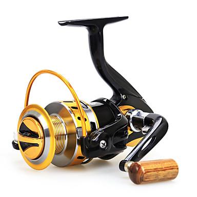 גלילי פיתיון יצוק 5.5:1 12 מיסבים כדוריים ניתן להחלפה דיג בים הטלת פיתיון דייג במים מתוקים - Baitcast Reels