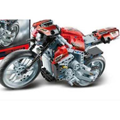 Legetøjsbiler / Byggeklodser / Legetøjsmotorcykler 1pcs Bil / Moto / Lastbil Øko Venlig Motorcykel / Entreprenørmaskiner Drenge Gave