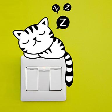 Dyr Wall Stickers Fly vægklistermærker Dekorative Mur Klistermærker / Klistermærker til kontakter,PVC Materiale Kan fjernes Hjem Dekor