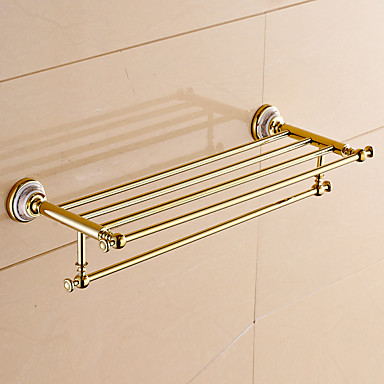 Badezimmer Regal Moderne Messing 1 Stück - Hotelbad Doppelbett (200 x 200)