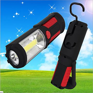 LED Lommelygter Lanterner & Telt Lamper LED 500 Lumens 1 Modus - AAA Super Lett Camping/Vandring/Grotte Udforskning Utendørs