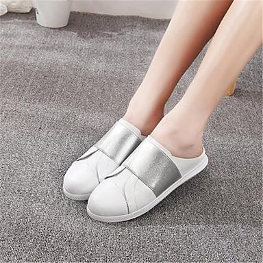 Sko-Kunstlær-Platå-Komfort-Sandaler-Friluft-Grønn / Rosa / Sølv