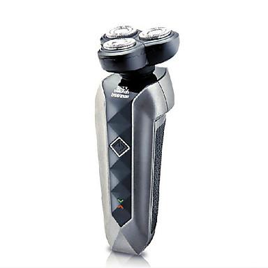 Elektrisk barbermaskin Herre Ansikt Elektrisk / Roterende Barbermaskin Lav lyd / Fleksible Hoder / Dreibart Hode Rustfritt Stål Trueman