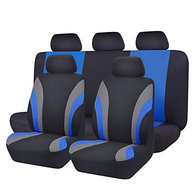 رخيصةأون اكسسوارات السيارات الداخلية-CARPASS أغطية مقاعد السيارات أغطية المقاعد رمادي / أحمر / أزرق منسوجات عادي من أجل عالمي