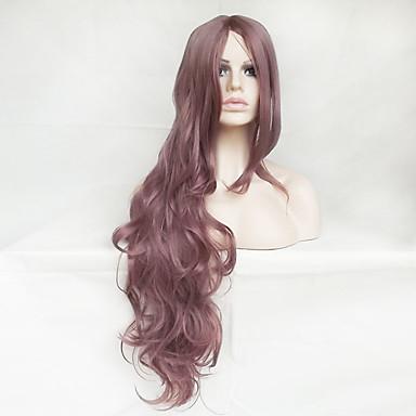 Cheveux Synthétiques Perruques Ondulation naturelle Sans bonnet Perruque de Cosplay