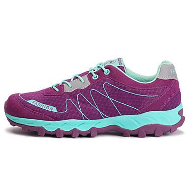 Mulheres Tênis de Corrida / Sapatos de Montanhismo Equitação / Corrida Malha Respirável Roxo / Cinzento Claro / Cinza Escuro