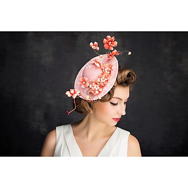 פנינה תחרה נטו fascinators headpiece קלאסי הנשי סגנון