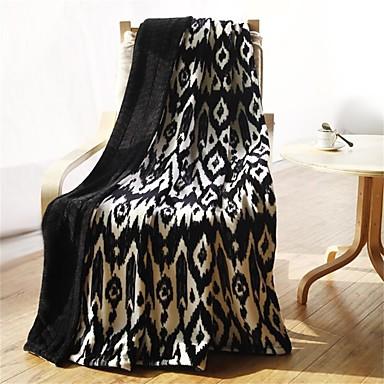 Flanela,Estampado e Jacquard Geometrico 100% Algodão cobertores