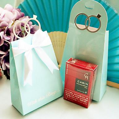12 Peça/Conjunto Titular Favor-Criativo Papel de CartãoCaixas de Ofertas Bolsas de Ofertas Latinhas Lembrança Caixas de Presente