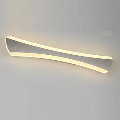 14w a mené l'éclairage de salle de bains, / contemporain métallique intégrée moderne conduit