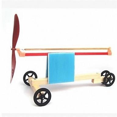 מכוניות צעצוע צעצועי מדע וגילויים צעצוע חינוכי צעצועים טחנת רוח מודרני, חדשני עץ 1 חתיכות