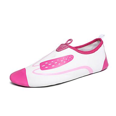Mulheres Sapatos Sintético Primavera Outono Rasos Água Sem Salto para Casual Fúcsia Verde Azul