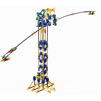 צעצועים לבנים צעצועי דיסקברי צעצוע טרי / אבני בניין / צעצוע חינוכי / צעצוע מדע וגילוי מִגדָל / / ABS חום / לבן