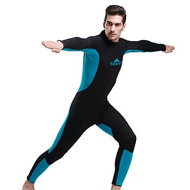 SBART Homme Costumes humides Combinaison  Intégrale Respirable Résistant aux ultraviolets Compression Coque Intégrale TactelTenue de