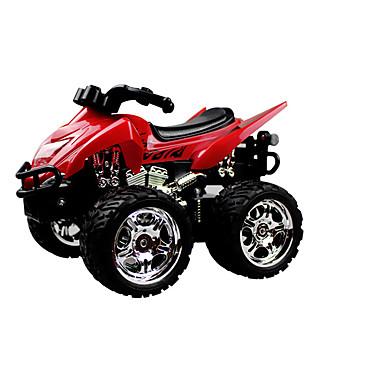 Motocicletas Corrida 4DW 1:13 Electrico Escovado RC Car 5KM/H 2.4G Vermelho Pronto a usarCarro de controle remoto / Controle