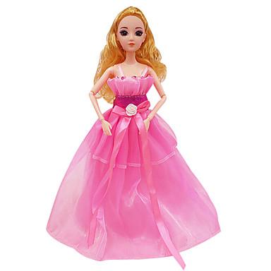 Dukkeklær Bryllupskjole Kjole Princess skjørt Plast Jente Gave