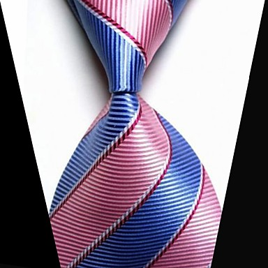 אופנתי כחול / ורוד בד גברים Tie Bar-1pc