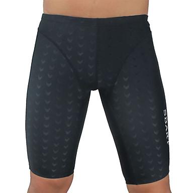 Homens Shorts de Natação Resistente ao cloro, Respirável, Compressão Náilon Chinês / Elastano Roupa de Banho Roupa de Praia Bermuda de Surf Sólido Natação