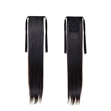 22 אינץ' שיער סינטטי הַאֲרָכַת שֵׂעָר קלאסי Flip In Cross Type יומי איכות גבוהה