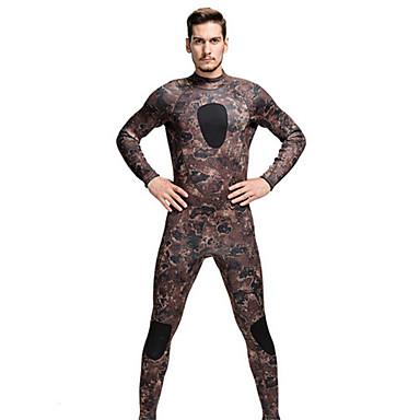SBART Homens Mulheres 3mm Mergulho Skins Macacão de Mergulho Longo Roupas de mergulho Térmico/Quente Corpo Inteiro Compressão Neoprene