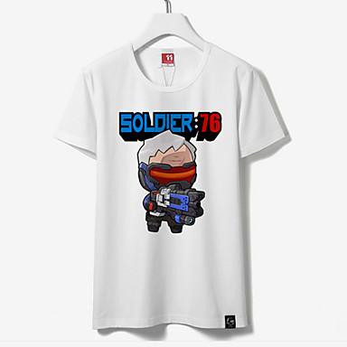 קיבל השראה מ אחרים אחרים אנימה תחפושות Cosplay חולצות קוספליי / תחתון דפוס חולצת טי
