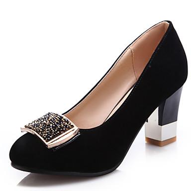 Zapatos Con Robusto Casual Otoño Negro Tacón Verano 01958185 Borgoña Para Semicuero Primavera Mujer Azul HqdwSgg