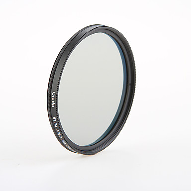 orsda® 58mm mc-cpl סופר רזה עמיד למים ומצופה (16 שכבה) מסנן cpl FMC
