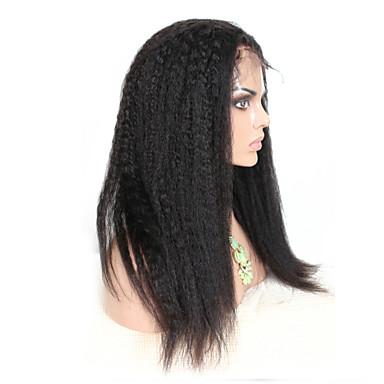 Human Hair Lace Wig Human Hair Lace Front Density Straight Wig Black Short Medium Length Long