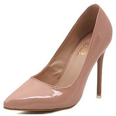 נעלי נשים-בלרינה\עקבים-סינטתי-עקבים-שחור / אדום / Almond-חתונה / משרד ועבודה / קז'ואל / מסיבה וערב-עקב סטילטו