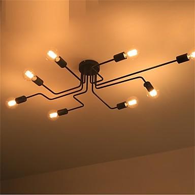 DengLiangZhiXin 8-luz Lámparas Colgantes Luz Ambiente Acabados Pintados Metal Mini Estilo 110-120V / 220-240V Bombilla no incluida / E26 / E27