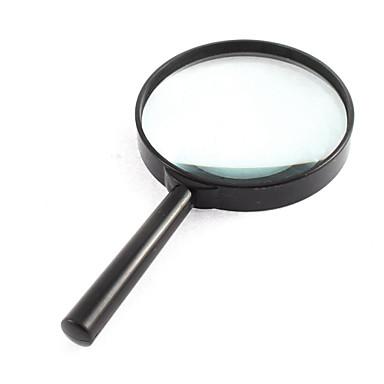 voordelige Microscopen & Endoscopen-Vergrootglazen Algemeen gebruik / Lezen Algemeen / High-Definition / Handheld 4X 100mm Normaal Kunststof
