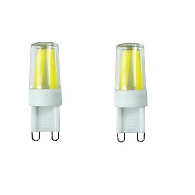 2W G9 Luminárias de LED  Duplo-Pin T 4LED leds COB Impermeável Decorativa Regulável Branco Quente Branco Frio Branco Natural 150-180lm
