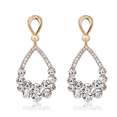 Mujer Cristal Pendiente - Moda Blanco Para Boda Fiesta Diario / Diamante / Multi-piedra / Zirconio