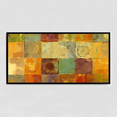 מצויר ביד מופשט ציורי שמן,מודרני פנל אחד בד ציור שמן צבוע-Hang For קישוט הבית