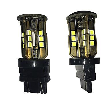 2 pcs lampe de golf voiture spéciale de queue conduit feu de brouillard 3157 24w 5050 24 cms conduit frein voiture lampe de voiture bakc