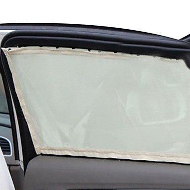 bil solseil side nylon mesh vindu gardin sammenleggbar parasoll uv beskyttelse