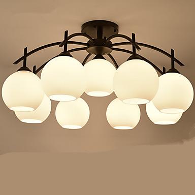Moderne/Contemporain Lustre Pour Salle de séjour Chambre à coucher Salle à manger AC 220-240V Ampoule incluse